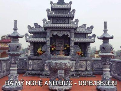 Lăng mộ đá ĐẸP tại Bắc Giang, Diện tích 5.2x6m