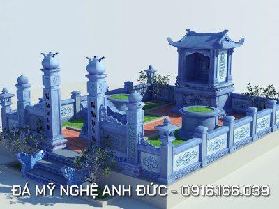 Phối cảnh Lăng mộ đá tròn ĐẸP tại Ninh Bình