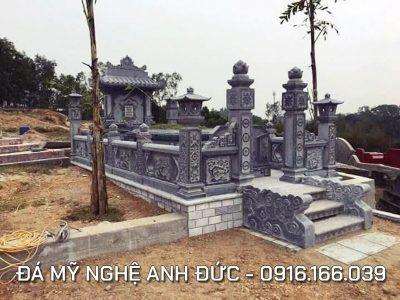 Lăng mộ đá ĐẸP diện tích 7x10m