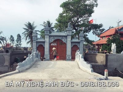 Cổng đá Tam Quan ĐẸP ở Ninh Bình