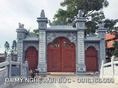 Cổng đá ĐẸP cho Đình Chùa ở Ninh Bình