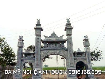 Cổng đá ĐẸP – Cổng đá Tam Quan Nhà thờ họ