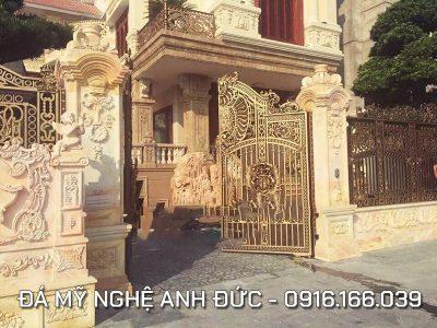 Cổng đá ĐẸP cho Lâu Đài ở Ninh Bình
