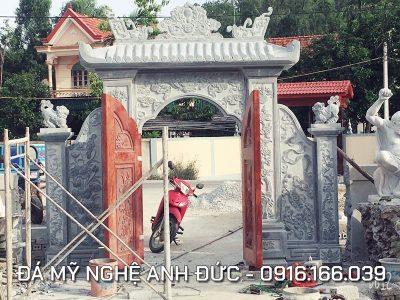 Cổng đá ĐẸP cho Nhà Chùa ở Ninh Bình