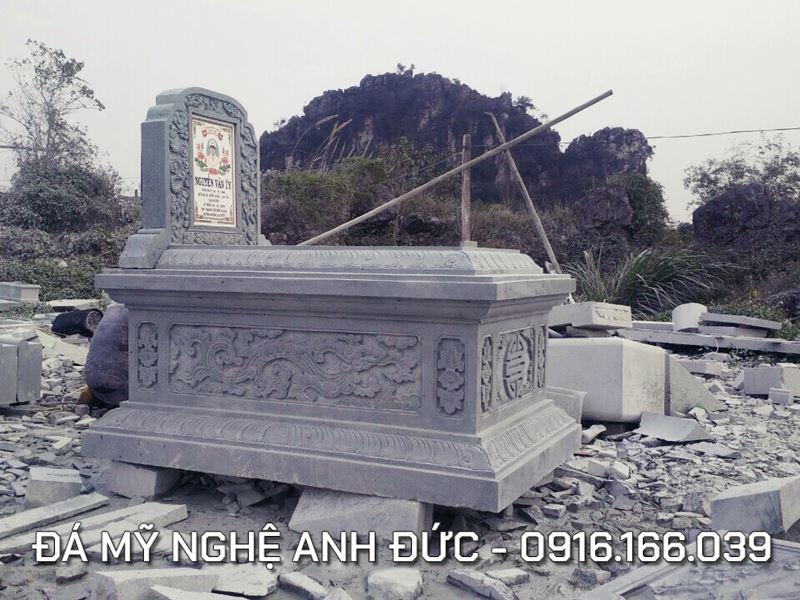 Mẫu Mộ đá ĐẸP Anh Đức Ninh Bình