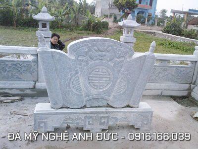 Cuốn thư đá cho Hoa viên Lăng mộ đẹp