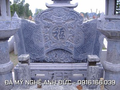 Cuốn thư đá đẹp cho Bảo điện tại Thanh Hóa