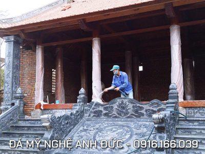 Làm Chiếu đá – Chiếu đá ĐẸP cho Đình làng tại Nam Định