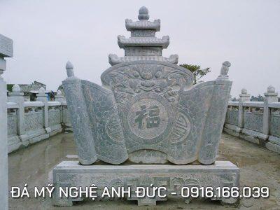 Cuốn thư cho lăng mộ đá tại Bắc Giang