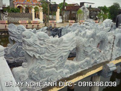 Rồng đá đẹp cho Lầu Quan Thế Âm Bồ Tát RĐ#5
