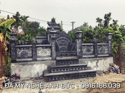 Khu Lăng mộ đá tổ Họ Lưu Tiến Hòa Xá – Mẫu Mộ đá ĐẸP Anh Đức tại Nam Định