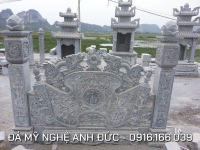 Cuốn thư Rồng chầu nguyệt đẹp tại Long An
