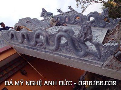 Làm Lan can Rồng đá đẹp cho Bảo Điện ở Thái Bình RĐ#7