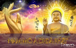 Đá mỹ nghệ Anh Đức – Niệm Nam Mô A Di Đà Phật để tự tu tập khai chuyển vận mệnh, hưởng phước báu đời đời