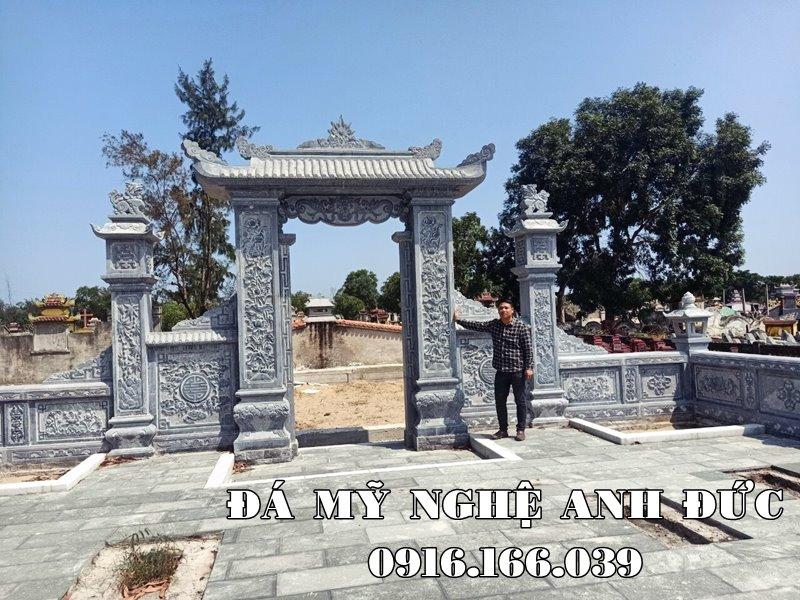 Dat Cong da - Xay Cong da - Mau Cong da dep - Da my nghe Ninh Binh