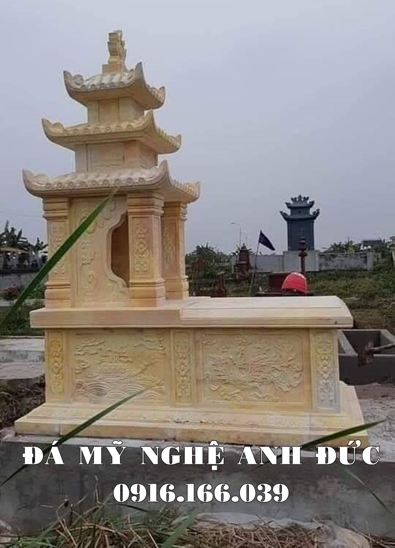 Mau Mo da vang 3 mai - Mo da dep Ninh Binh