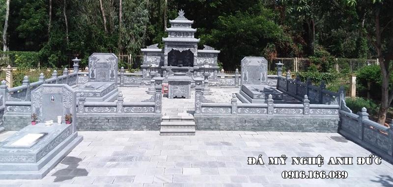 Tư vấn, xây Lăng mộ, Lăng đá, Nhà mồ đá (Mồ đá đẹp) trên toàn quốc. Đá mỹ nghệ Anh Đức - Đơn vị Xây Nhà mồ đá, Mồ đá Uy tín, Chất lượng Hàng đầu tại Việt Nam.