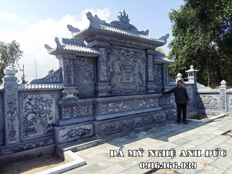 Xay Lang mo da - Lang da dep cua Nguyen Dinh Chi Mo tại Hà Nội